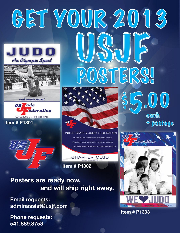 USJF Judo posters