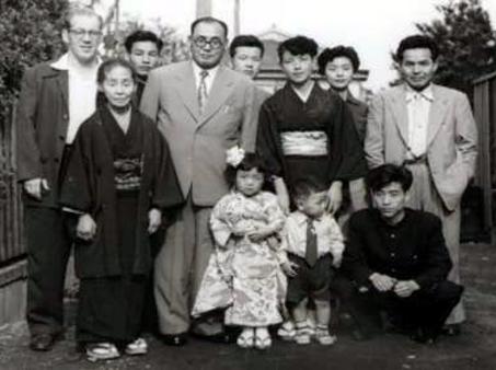 Hal Sharp, Ishikawa Family, Mr. Kudo wishing Ishikawa Farewell for his trip to Cuba