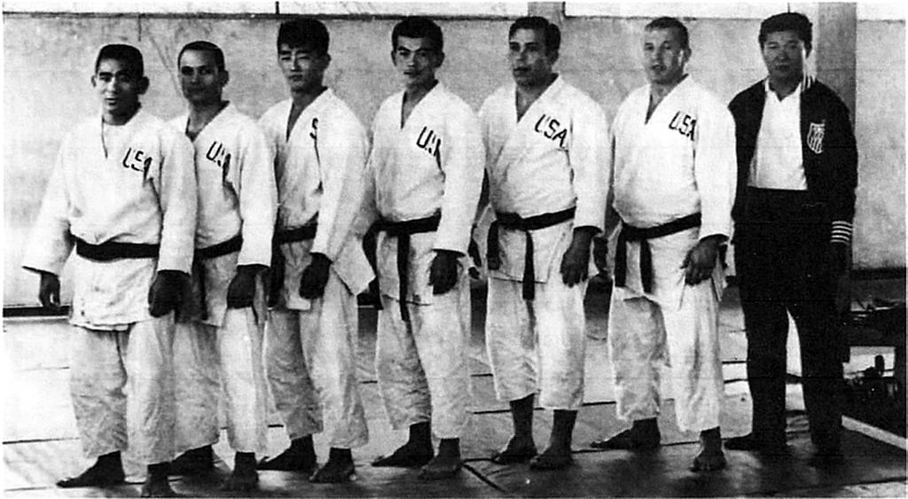 US Judo Team 1965