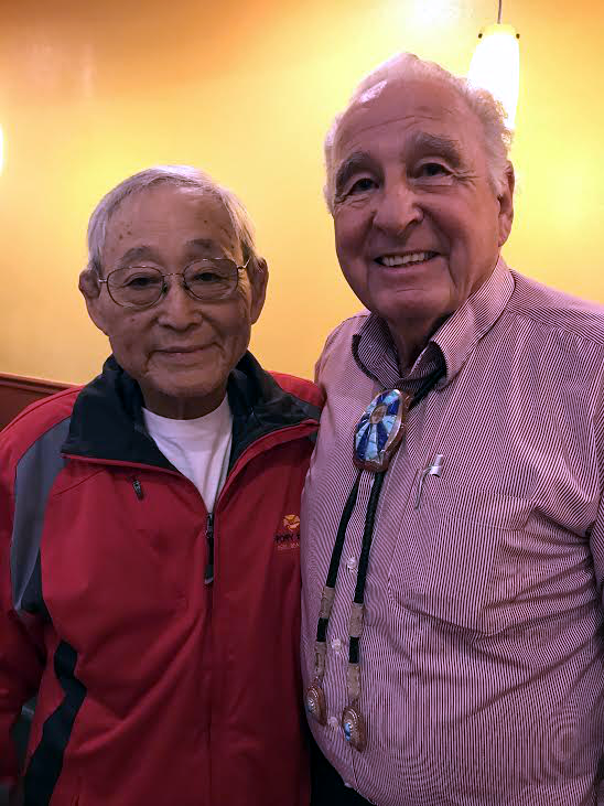 Haruo and Ben Campbell, November 2018