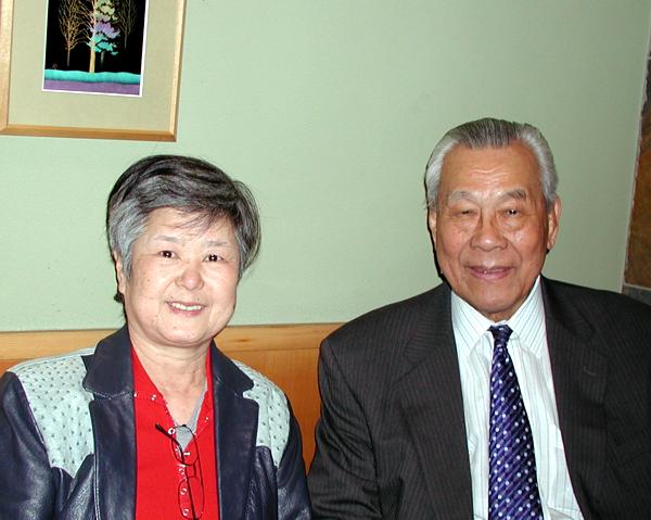Kuniko with Toshiro Daigo