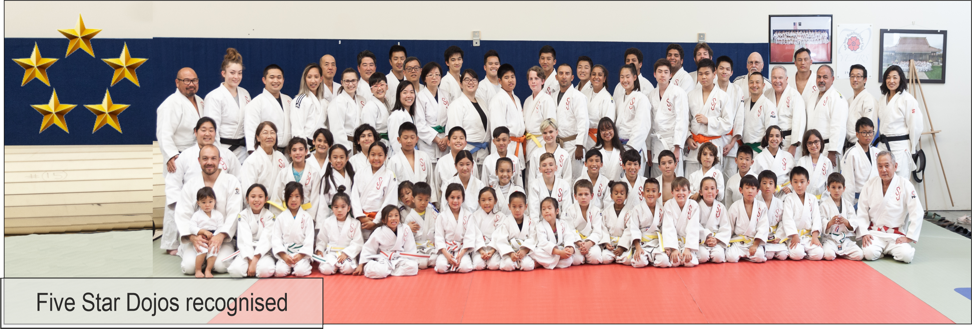 Learn about the Five Star Dojo Program