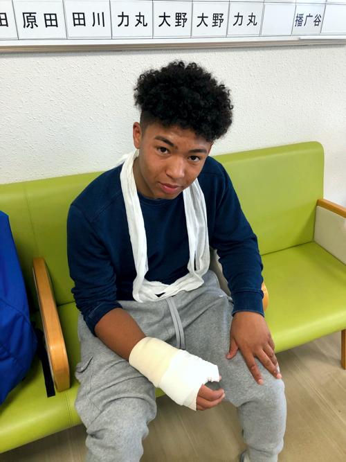 Kai at Hospital