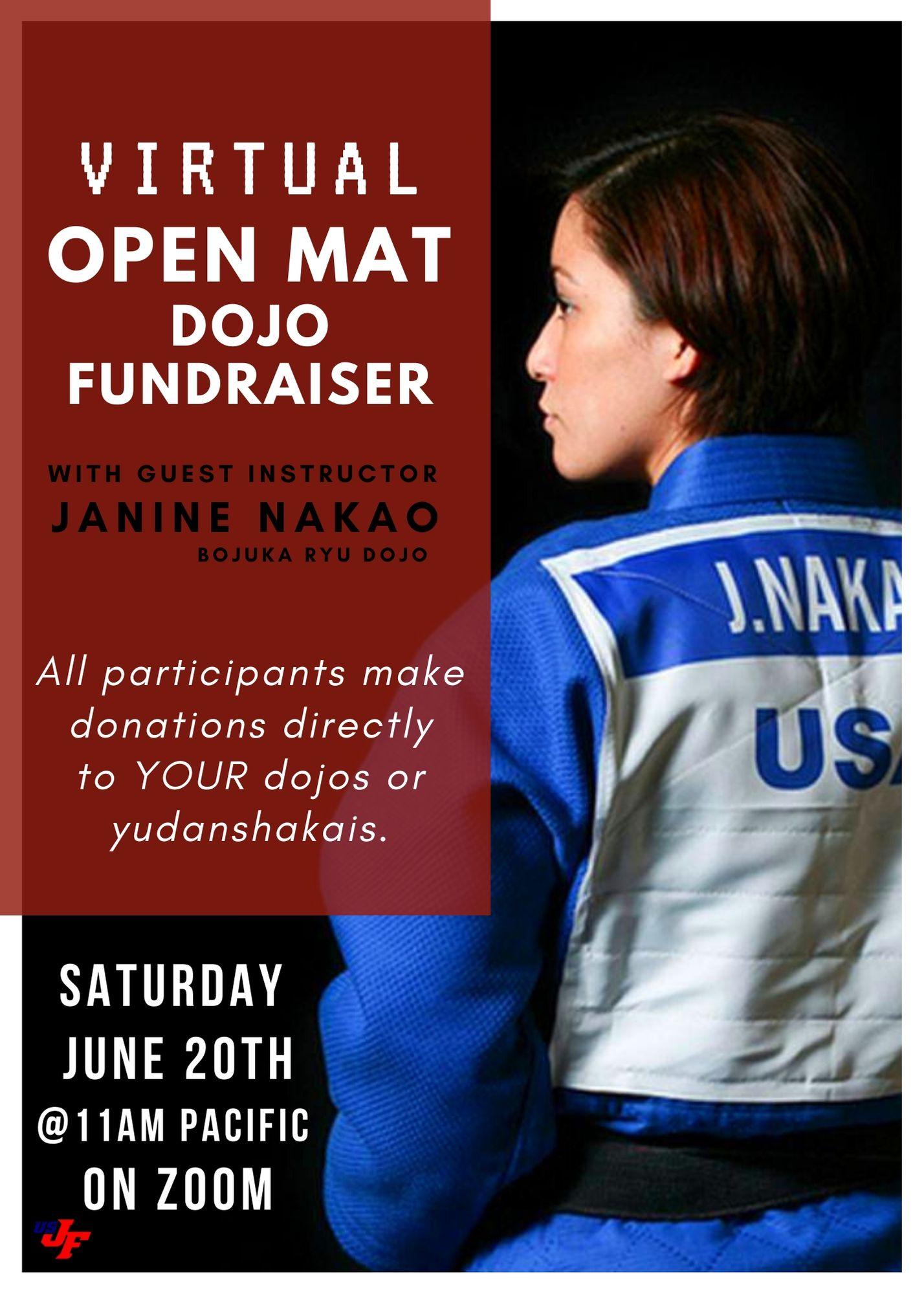 open mat dojo fundraiser