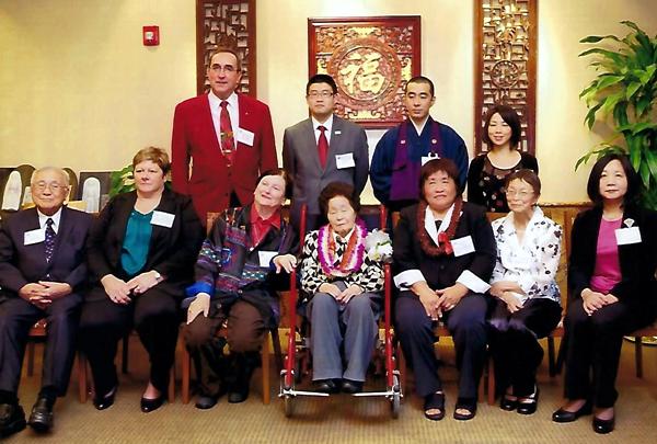 Robert Brink at Fukuda Sensei Judan Ceremony