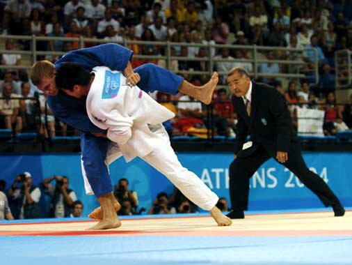 2004 Athens Olympic - 73kg final
