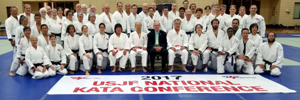 the 2017 USJF National Kata Conference