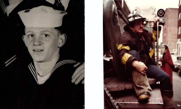 After living most of his teenage life in an orphanage at Mount Loretta, John joined the Navy at the age of 17. After the Navy, he served as a New York City firefighter for more than twenty years.