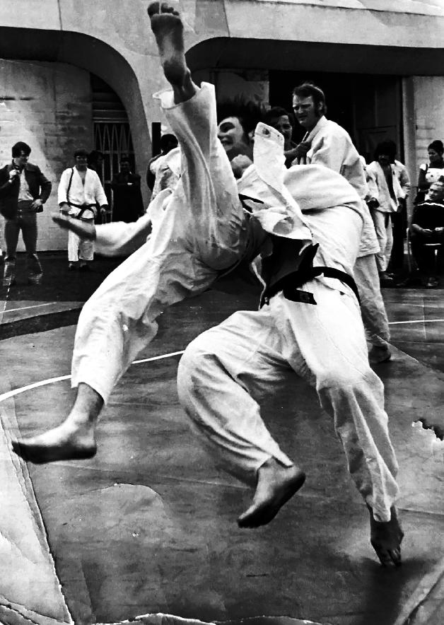 John's favorite judo moves were counter techniques, especially tani-otoshi