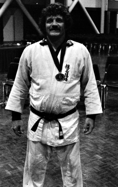 John took the bronze medal in the First World Police and Fire Games in 1985