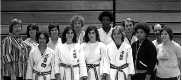 Maureen Braziel Team picture 1977 US Open