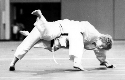 Maureen Braziel Uchimata 1976 Nationals