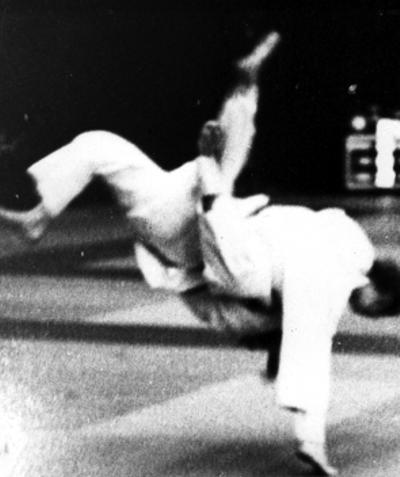 Maureen Braziel Uchimata 1976 British Open