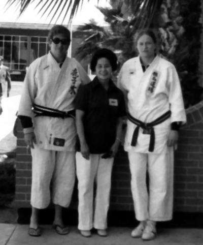 Rusty Kanokogi Keiko Fukuda and Maureen Braziel 1st Women's Nationals in Phoenix, AZ 1974