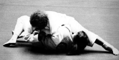 Maureen Braziel 1976 Nationals hold down