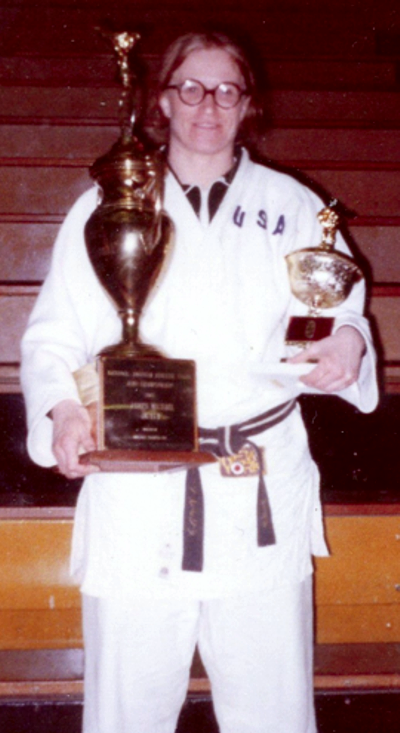 Maureen Braziel Black Belt Inspirational Award. Perennial. First woman to have her name on it.