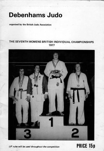 Maureen Braziel British Open pamphlet 1977 for 1976 winners