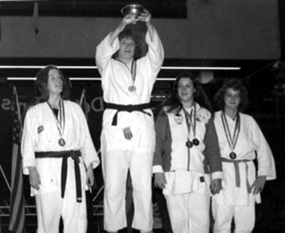 Maureen Braziel Open Division champion 1976 British Open