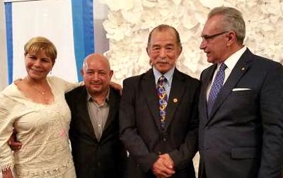 With Puerto Rican International Medalists and Sensei Hiromi Tomita