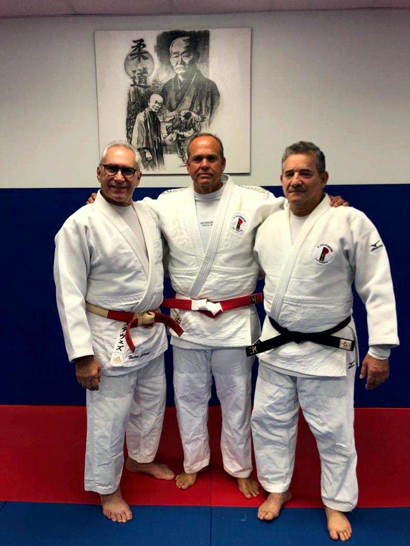 A. Kolychkine Judo Foundation, Sensei Hector Estevez Shichidan, Sensei Pedro Kolychkine Rokudan, Sensei Gerardo Tello, Godan