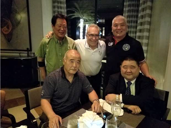2000, 2004, 2008, 2012 and 2016 U.S. Olympic Judo Referees