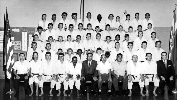 This group picture was taken in 1960-1 at the Boys Club of Phoenix, my first dojo.