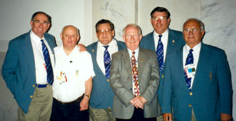 In 1986, he was the manager for the Armed Forces Judo Team that went to the CISM (World Military) Judo Championship in Brussel, Belgium. In 1984, he was host to the Irish and Belgium Olympic team while they trained in San Diego, California.