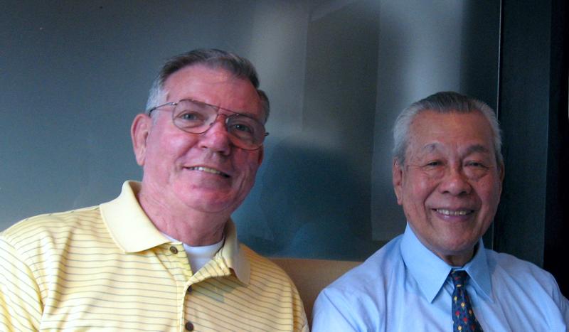Jerry Hays, 6th Dan, (left) and Toshiro Diago Sensei, 10th Dan
